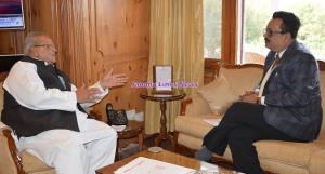 Governor meets Principal Secretary Finance