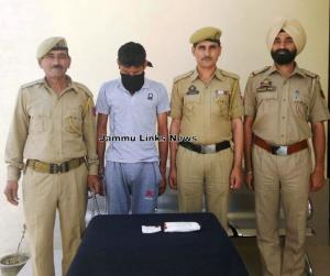 Drug peddler held with 120 intoxicant capsules in...