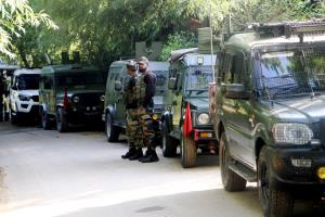 JeM terrorist gunned down by security forces in K...