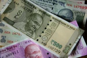 Rupee falls 12 paise to fresh 16-mth low against ...