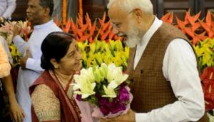 PM Modi remembers Swaraj on her death anniversary