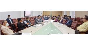 Principal Secretary to LG, Nitishwar Kumar discus...