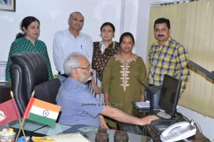 VC JU launches website of SBT JU