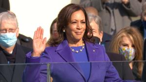 Kamala Harris sworn in as America's first woman V...