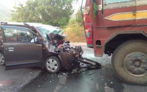 Five killed, two injured in road accident in Odis...