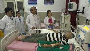 Four dialysis machines installed in District Hosp...