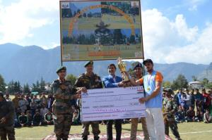 Army organises Chenab Valley Cricket League