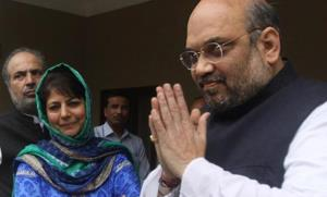 The BJP-PDP govt in J&K: A timeline