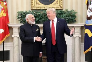 Modi thanks Trump for his wishes