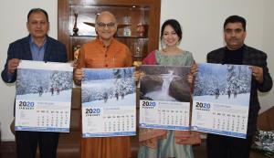 Advisor Sharma releases J&K Tourism Calendar