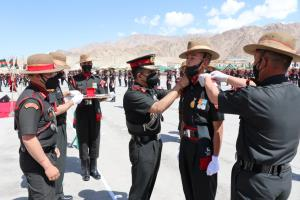 Passing-out parade held to mark entry of recruits...