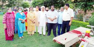 Councillor inaugurates 'Open-Air-Gym' at Channi H...