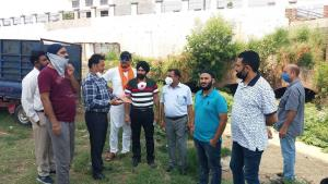 Billawaria kick starts cleaning of Gangyal Nallah