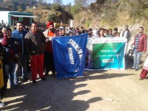 Hundreds of trekkers throng Mansar Great Trek Fes...