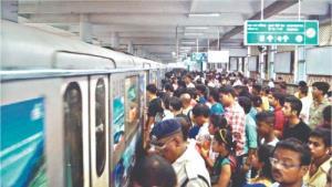 Durga Puja rush: Kolkata Metro records highest ev...