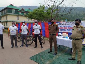 BRO organises cycle expedition to impart awarenes...