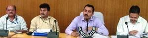 DDC Udhampur reviews the progress of Gram Swaraj ...