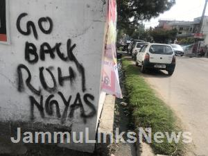 Hate messages on walls warn Rohingyas to leave Ja...