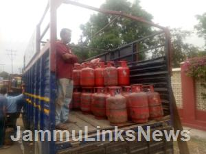 LMD books LPG distributor for non-home delivery