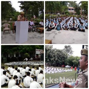 Kathua Police launches awareness drive for studen...
