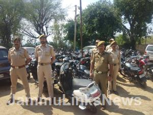 72 vehicles seized