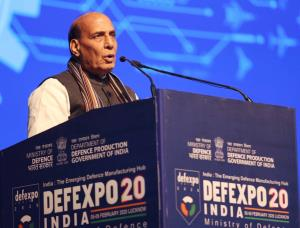 Rajnath welcomes