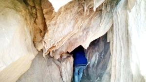 Natural cave found near Chenani