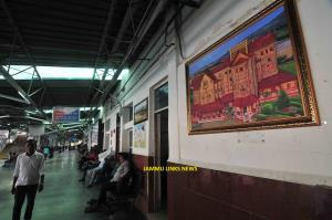 Jammu Railway Station beautified with 2500 plants...