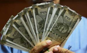 Rupee recovers from 16-mth low, up 15 paise again...