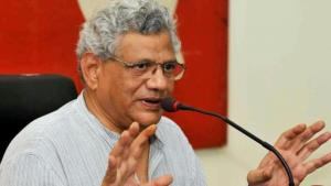 Sitaram Yechury attacks govt on slowdown in econo...