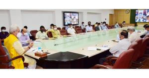 Lt Governor chairs meetings with senior Doctors, ...