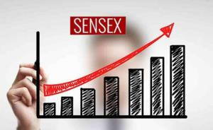 Sensex hits life-time high, crosses 40,400