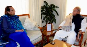 VC, Cluster University, Jammu, meets Governor