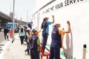 JMC organizes wall painting competition