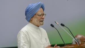 Manmohan Singh takes a dig at PM Modi, says cultu...