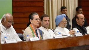 Sonia attacks Modi govt, says dangerous regime co...