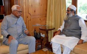 General Secretary Jamiat Ulema-i- Hind meets Gove...
