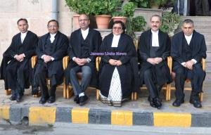 Justice MK Hanjura accorded farewell