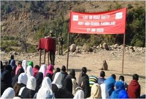 Awareness on road safety imparted
