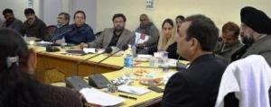 Srangal chairs maiden review meeting of Horticult...