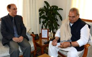 Chairman J&K PSC meets Governor