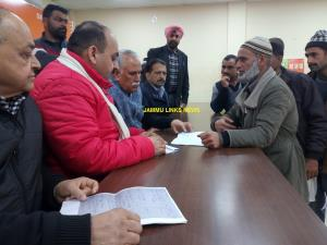 Shamsher Singh conducts karyakarta, public darbar