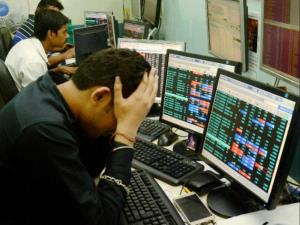 Market bleeds: Sensex, Nifty post worst ever one-...