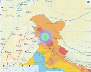 4.3 magnitude quake hits J&K