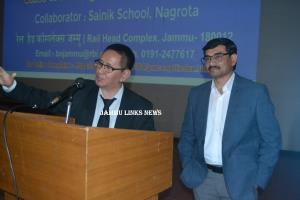 Sainik School Nagrota holds guest lecture