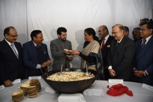 FM Sitharaman attends traditional