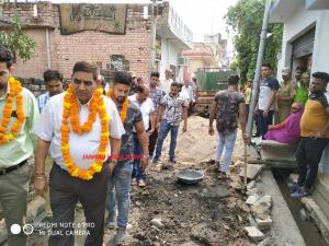 JMC Mayor conducts a tour of Ward no. 31