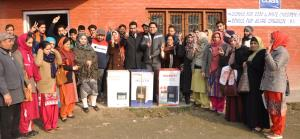 DC Srinagar visits Abhenanda Home at Solina