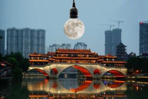 China plans to launch 'artificial moon' to replac...