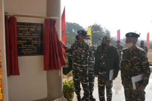 Special DG CRPF inaugurates Quarter Guard building